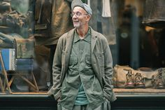 Image of Nigel Cabourn Talks The Army Gym with PORT Magazine