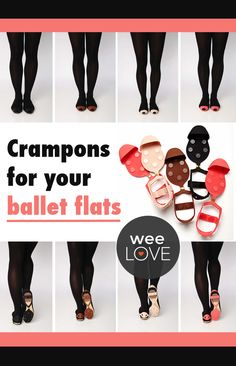 Crampons for your ballet flats    Want to get weeLove in your inbox? www.wee.co/weelove