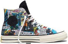 aab5980611d4 Converse Chuck Taylor All Star High  70 x DC Comics Batman Black Print  Comics 155359C