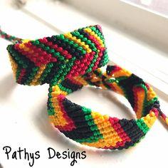 Friendship bracelet  Reggae bracelet, rastafari bracelet, unisex bracelet, bob marley bracelet, surfer bracelet, jamaica bracelet father day by PathysDesign on Etsy