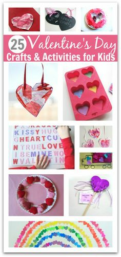 Valentine's Day Crafts & Much More! via No Time For Flash Cards @Allison @ No Time For Flash Cards