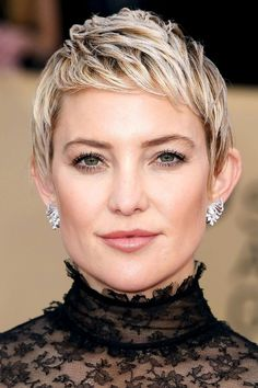 We rounded up 13 pixie cuts for thick hair courtesy of our favorite celebrities. Click here for all of the looks.