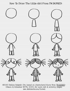 Easy people drawings, easy doodles drawings, learn to draw, drawing people, Art Drawings For Kids, Doodle Drawings, Drawing For Kids, Easy Drawings, Doodle Art, Art For Kids, Easy People Drawings, Basic Drawing, Drawing Ideas