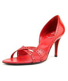 d05b68d7edc ROGER VIVIER Roger Vivier Annabelle S T.85 Open-Toe Patent Leather Heels .   rogervivier  shoes  pumps   high heels