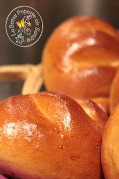 pains au lait IG bas - by Sandra Popotte