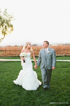 Winery wedding . Hannah nicole vineyards