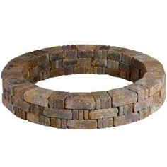 Pavestone RumbleStone 46 in. Tree Ring Kit in - The Home Depot Pavestone RumbleStone 46 in. Tree Ring Kit in Concrete Retaining Walls, Concrete Fire Pits, Outdoor Fire, Outdoor Living, Outdoor Spaces, Tree Mulch, Square Fire Pit, Fire Pit Ring, Esschert Design