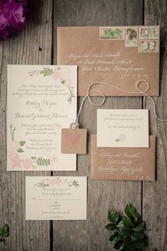 #paper-goods, #stationery Photography: The Wedding Artist's Collective - theweddingac.com Read More: http://stylemepretty.com/2013/08/13/pennsylvania-vintage-wedding-from-the-wedding-artists-collective/