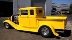 FOR SALE: 1934 Ford Truck #yellow