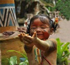Que imagem mais linda! Tenho tanto orgulho de ter sangue indígena por parte de minha bisavó materna!