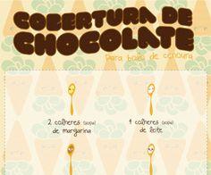 Infográfico receita de Mousse de banana, uma receita leve, simples e muito rápida de preparar e o melhor é que não leva ovo.