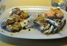 Mixed Seafood cicchetti at Anice Stellato