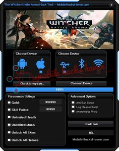The Witcher Battle Arena Hack Cheats