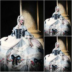 Freeshipping! Klant gemaakt Victoriaanse Dress1860S Scarlett Burgeroorlog Southern Belle jurk Marie Antoinette jurken US4-36 C-963 €283,42