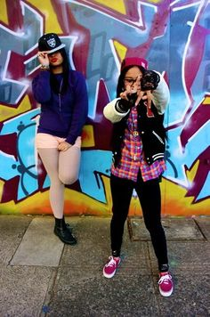 Street style too DOPE with my best friend