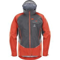 Designed in collaboration with the Swiss Alpine Rescue Team, the Haglofs Roc Rescue jacket keeps driving wind, rain and snow at bay with a waterproof and breathable face fabric and fully taped seams. Running Shorts Outfit, Best Running Shorts, Running Jacket, Running Shirts, Mens Hiking Jacket, Men Hiking, Vest Jacket, Hooded Jacket, Outdoor Wear