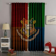 37 Best Ideas For Baby Room Disney Harry Potter Objet Harry Potter, Deco Harry Potter, Harry Potter Nursery, Theme Harry Potter, Harry Potter Stuff, 3d Curtains, Custom Curtains, Bedroom Curtains, Harry Potter Curtains