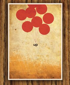 DisneyPixar's Up A3 Poster by colorpanda on Etsy. $18.00, via Etsy.