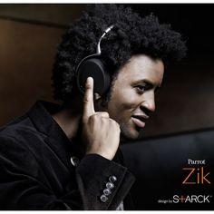 Parrot Zik by Philippe Starck Cuffie stereo senza fili