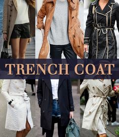 A elegância do Trench Coat