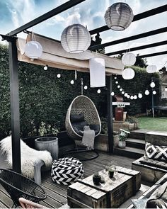 patio ideas on a budget ; patio ideas on a budget backyard ; patio ideas on a budget diy ; patio ideas on a budget pavers Outdoor Spaces, Outdoor Living, Outdoor Decor, Outdoor Seating, Rooftop Decor, Rooftop Patio, Outdoor Balcony, Outdoor Patios, Outdoor Lounge