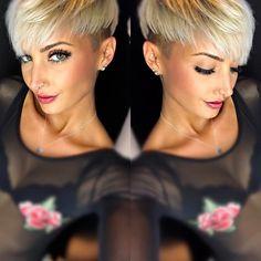 """2,146 Likes, 69 Comments - Jenny Schmidt  (@jejojejo87) on Instagram: """"Haare sitzen wieder  #hair #haircut #haircolor #undercut #shorthair #shorthaircolor #pixiecut…"""""""