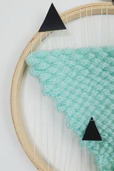 DIY tissage tricotin