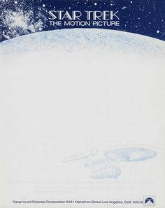 Letterhead used by the Star Trek creator in 1977, two years prior to the release of Star Trek: The Motion Picture. Production began in '75.  Previously featured: Roddenberry's 1967 letterhead. Gene Roddenberry, 1977 | Source