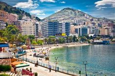 Main city promenade and pablich beach in Saranda, Albania. - master2/iStockphoto/Getty Images