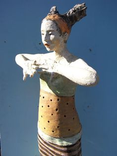 ☥ Figurative Ceramic Sculpture ☥  Doris Althaus