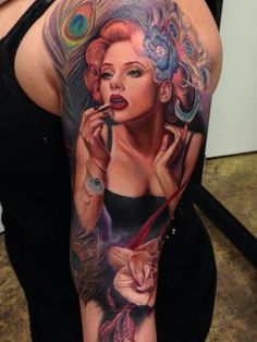 tattoo-journal   45 Famous Portrait Tattoos – Awesome Realistic Photos   http://tattoo-journal.com