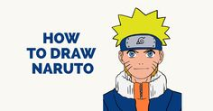 Learn How to Draw Cool Naruto: Easy Step-by-Step Drawing Tutorial for Kids and Beginners. #drawing #tutorial #naruto See the full tutorial at https://easydrawingguides.com/how-to-draw-naruto/.