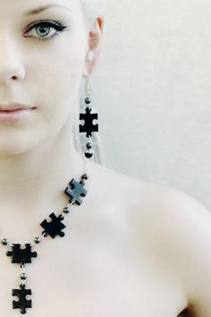 Puzzle jewelry by Minnu.deviantart.com