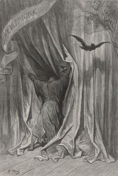 The Raven by Edgar Allan Poe Illustrated by Gustave Doré