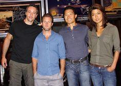 ♥♥♥ Hawaii Five-0 cast - Alex O'Loughlin, Scott Caan, Daniel Dae Kim and Grace Park
