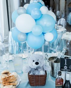 "515 Likes, 4 Comments - Sweet Heavenly Events Hire (@sweetheavenlyeventshire) on Instagram: ""The Centrepeices SEBASTIAN 's Christening & First Birthday We had the pleasure of styling for…"""