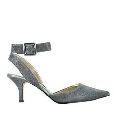 Town Shoes Ankle Strap Tapered Pump