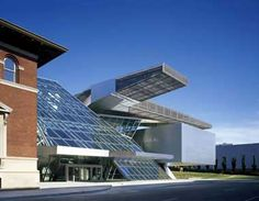 Akron art museum expansion by coop himmel b lau akron ohio usa favorite places spaces for Belgrade gardens barberton ohio