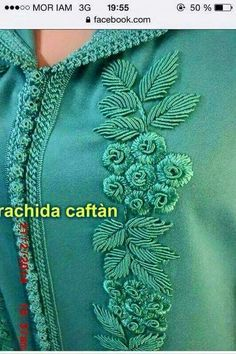 Embroidery Fashion, Beaded Embroidery, Embroidery Stitches, Hand Embroidery Design Patterns, Brazilian Embroidery, Clothes Crafts, Embroidery Techniques, Quilt Stitching, Dress Patterns