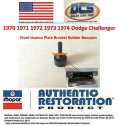 1970 1971 72 73 74 Dodge Challenger MoPar Flip Top Cap SEAL R//T T//A Hemi