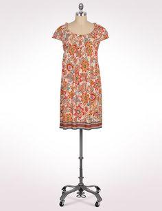Women's | Dresses | Smocked Floral Dress | dressbarn