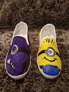 Minion shoes handpainted