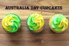 Australia Day Cupcakes School Holiday Programs, Aus Day, Dessert Recipes, Dessert Ideas, Desserts, Aussie Food, Anzac Day, Different Holidays, Aussies