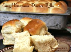 Easy Homemade Dinner Rolls - soft, delicious and the real clincher -- super simple to make. Perfect for holiday dinners, potlucks and family gatherings! #STAROliveOil #shop #cbias @STAR Fine Foods