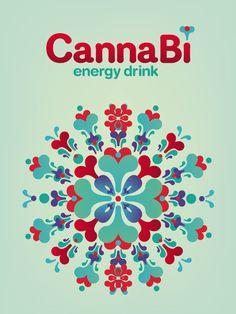 Canna Bì   Energy Drink on Behance