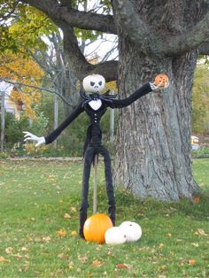 Jack Skellington for Halloween!