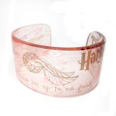 Harry Potter Cuff Bracelet.  Beautiful