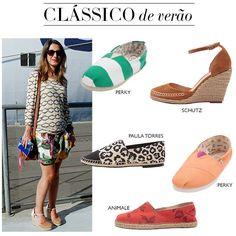 Compre moda com conteúdo, www.oqvestir.com.br #Fashion #Shoes #Espadrilha #Pretty #Print