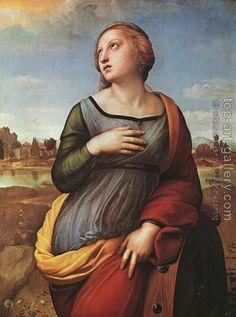 Raphael : St Catherine of Alexandria