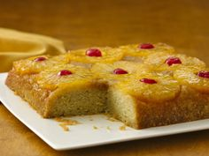 Pineapple Upside-Down Cake (Gluten Free)